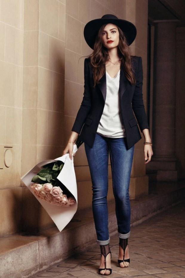 Джинсы на работу - с чем носить женщинам, чтобы создать стильный образ для офиса (плюс фото)?